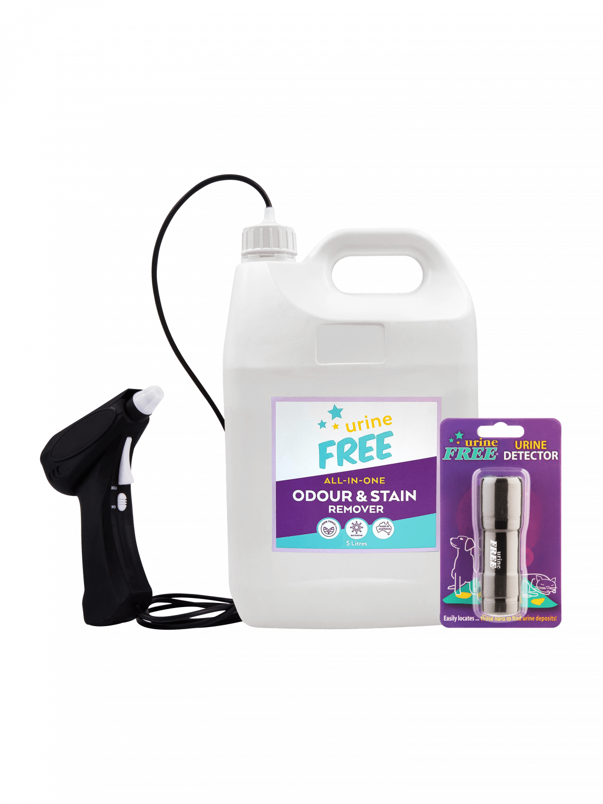 UrineFREE 5 Litre Container With Urine Detector _ Battery Sprayer